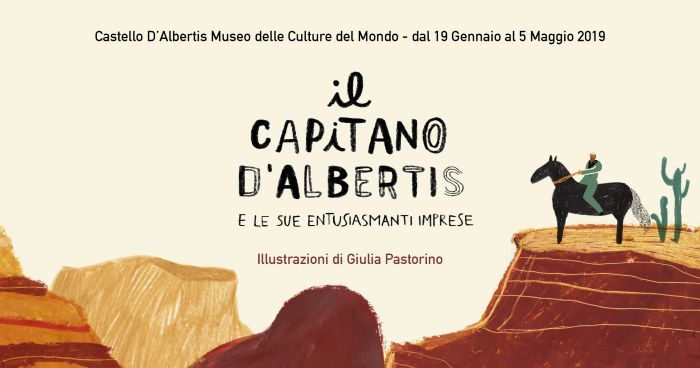 Il Capitano D'Albertis e le sue entusiasmanti imprese